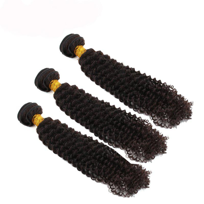 Buy 3pcs / lot 6A Brazilian Virgin Hair Kinky Curly Extension Human Hair Weave
