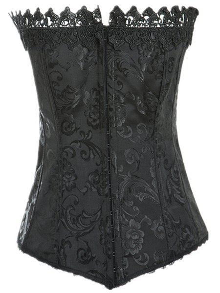 Shop Stylish Laced Solid Color Corset For Women