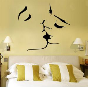Personalized Carve Style Removable Wall Stickers Fashion Room Window Decoration -