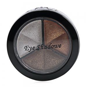 Cosmetic 3 Colors Girl Makeup Neutral Eye Shadow with Mirror Brush -