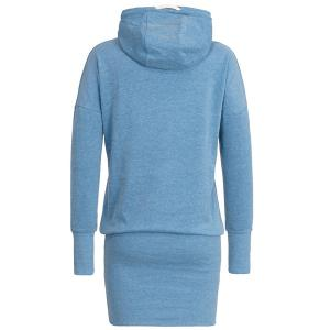 Stylish Hooded Long Sleeve Women's Hoodie Dress -