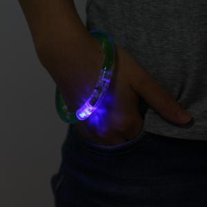 Colorful LED Luminous Bracelet Wristband for Christmas Party Games -