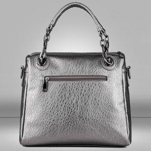 Retro Rivet and Embossing Design Women's Tote Bag -