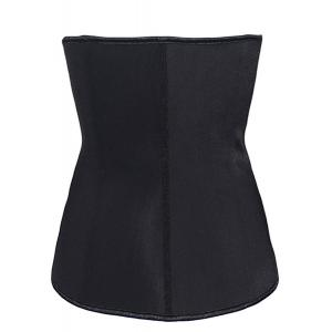 Casual Strapless Slimming Corset For Women - BLACK M