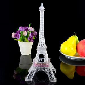 Cute LED Glowing Eiffel Tower Christmas Party Decoration -
