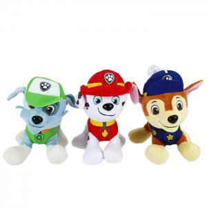 6Pcs 7 inch Characteristic Plush Toy Decoration Gift with Suction Cup -