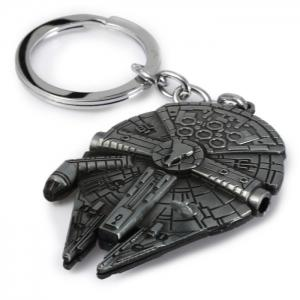 Portable Vess Millennium Falcon A Style Metal Key Ring -