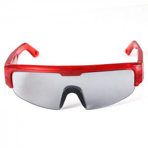 5 Light Cool DJ Style Flashing LED Glasses pour les décorations de fête de noel - Rouge