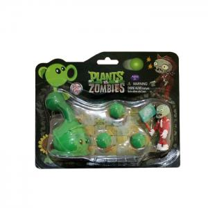 Plants vs. Zombies Shooter Cabbage-pult Educational Toy Gift Toy with Zombie 3 Ball -