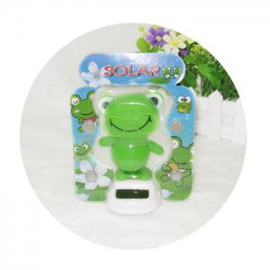 Solar Energy Shaking Frog with Glasses House Decoration Christmas Gift -