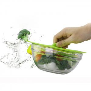 Silicone Magic Pot Pan Bowl Food Suction Lid Cover Kitchen Gadget -