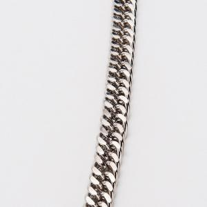 Stylish Simple Overlong Silver Trouser Chain For Men -