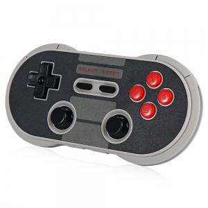 8Bitdo NES30 Pro Wireless Bluetooth Gamepad Game Controller for Android PC Mac Linux - Colormix - Size L