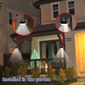 Practical 16 LED Solar Power Light Motion Sensor Garden Lamp Water Resistant for Garden Path Outdoor -