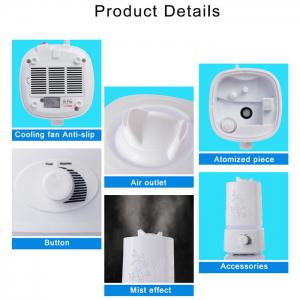 5 in 1 Ultrasonic Aroma Humidifier Aroma Oil Diffuser Air Purifier Ioniser LED Light Lamp 1.5L -