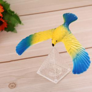 Magic Balancing Eagle Model Decoration for Home Office -