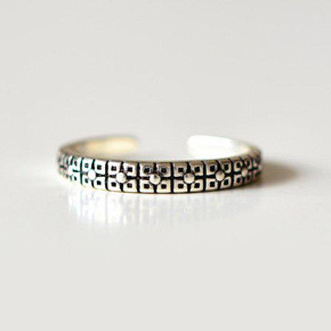 Affordable Punk Pure Color Cuff Ring For Women