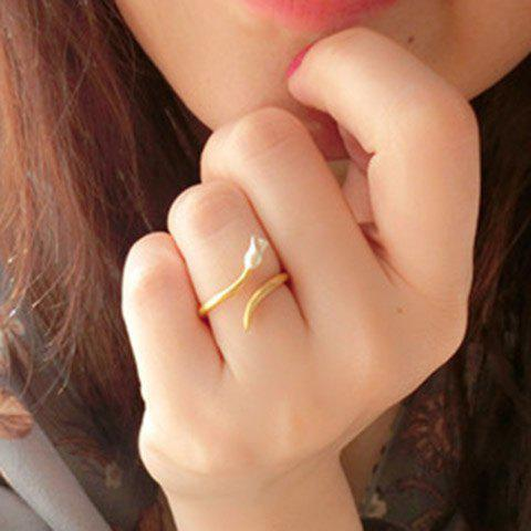 Trendy Trendy Little Rose Cuff Ring For Women