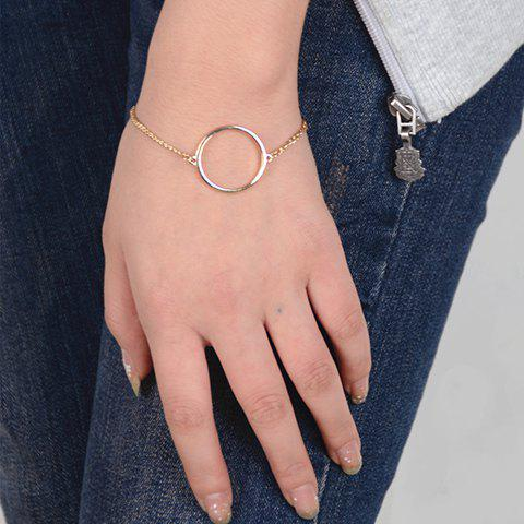 New Simple Style Solid Color Geometric Bracelet For Women