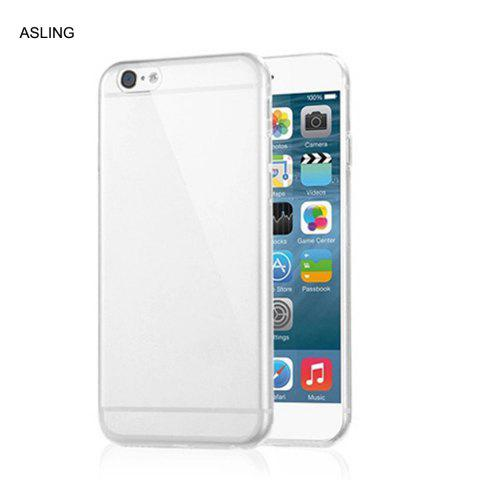 Online ASLING Practical Ultra-slim Protective Case for iPhone 6 / 6S Transparent Soft TPU Material
