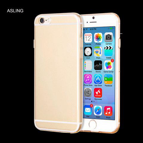 Shops ASLING Soft TPU Material Practical Protective Case for iPhone 6 Plus / 6S Plus Transparent Ultra-slim