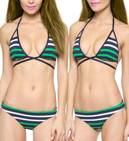 Criss cross halter bikini the Dragon ass