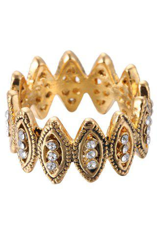 Fashion Chic Rhinestone Hollow Out Ring For Women