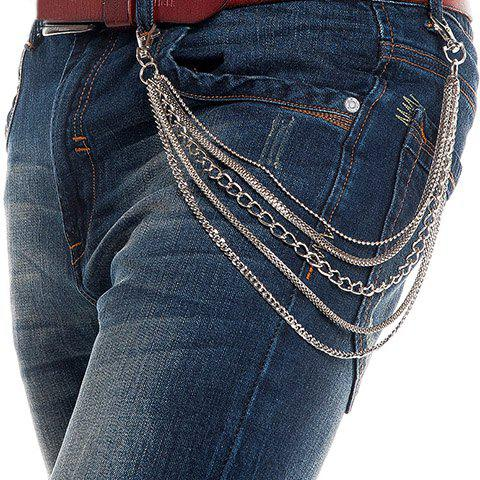 Best Stylish Simple Five Layered Trouser Chain For Men