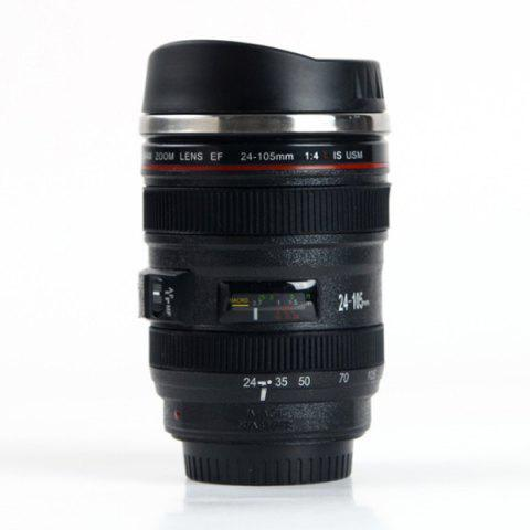 Unique New High Quality Travel Coffee Mug 400ML Camera Lens Mug