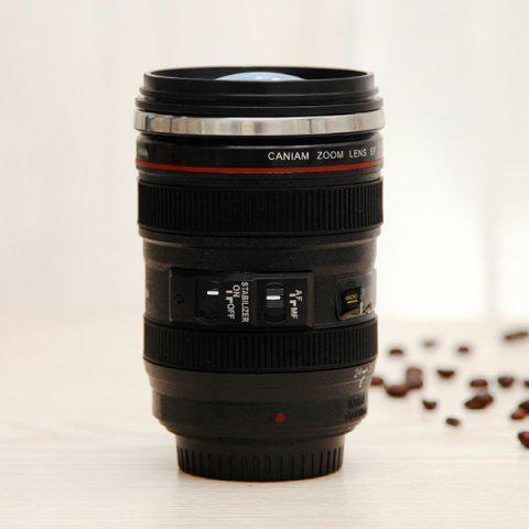 Best Creative High Quality Camera Lens Shape Special 300ML Valentine Gift Cup - BLACK  Mobile