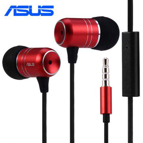 RED Original ASUS Zenfone 2 Series 3.5mm Jack In ear Earphone with Mic