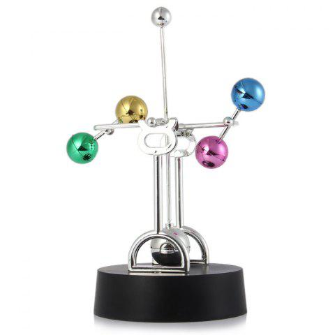 Discount Kinetic Ferris Wheel Perpetual Motion With Colorful Balls Office Desk Decoration