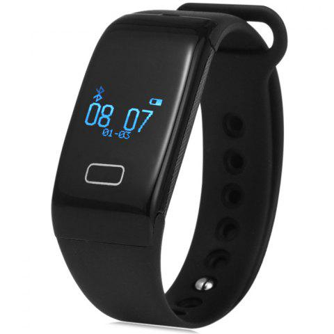 Trendy K18 Smart Bluetooth Wristband Real-time Heart Rate Test Watch