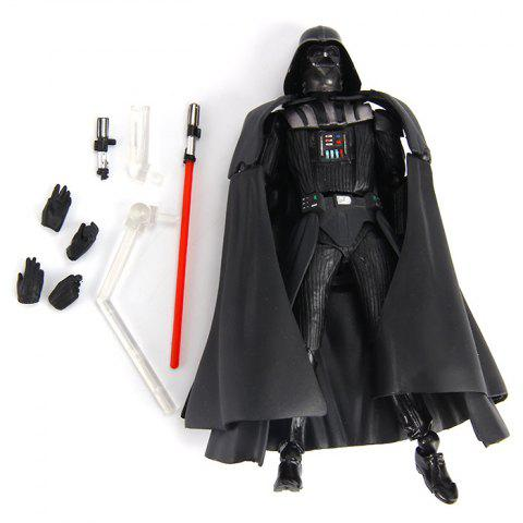 Outfits Popular Movie 16cm Revoltech Figure Model with Cool Weapon - BLACK  Mobile