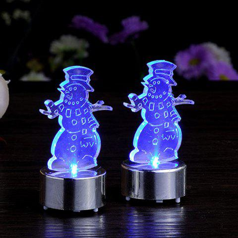 BLUE LED Clown Tealight ( 2023 Battery Include )