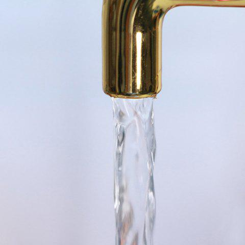 Latest Novelty Magic Fountain Faucet Impending Tap with Flashing LED Light - FAUCET STYLE GOLDEN Mobile