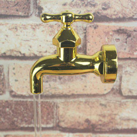 Shops Novelty Magic Fountain Faucet Impending Tap with Flashing LED Light - FAUCET STYLE GOLDEN Mobile