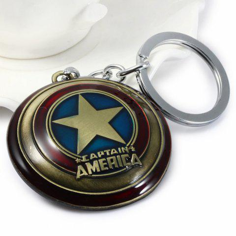 The Avengers Captain America Style Metal Key Chain
