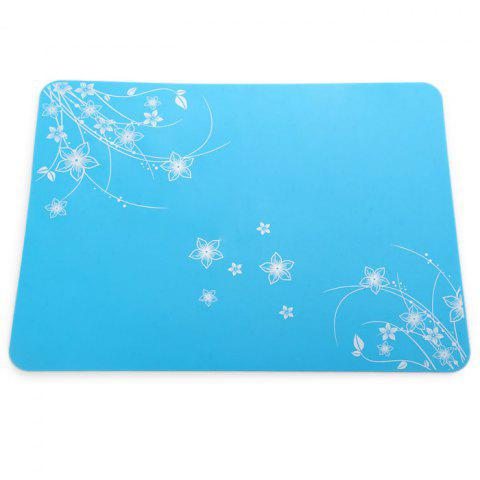Fashion Practical Silicone Placemats Insulated Western Food Mat Home / Restaurant Usage