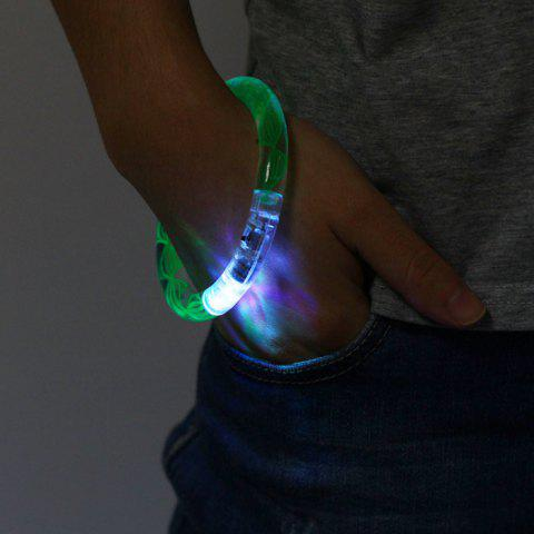 Sale Colorful LED Luminous Bracelet Wristband for Christmas Party Games