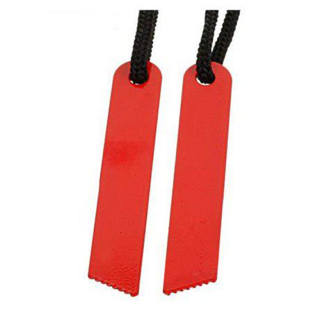 Discount 2pcs Outdoor Survival Tool Multifunctional Fire Starter with Scraper - RED  Mobile
