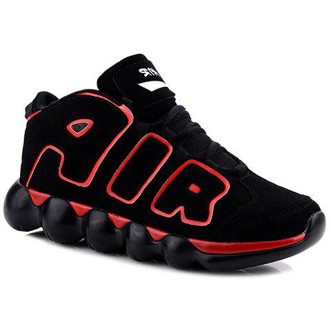 Sale Personalized Letters and Suede Design Men's Sneakers