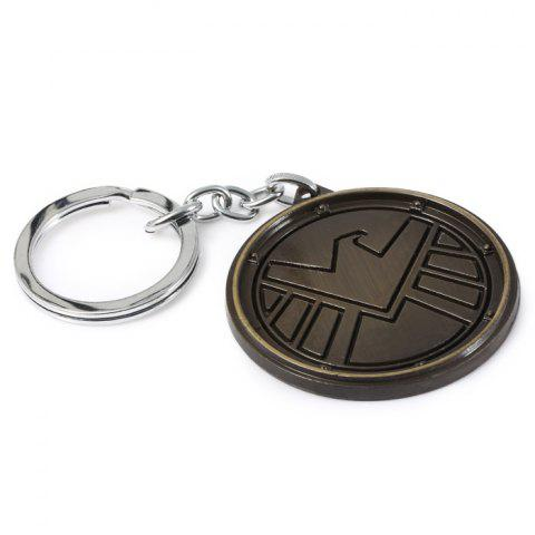 Store Portable The Avengers-SHIELD Sign Metal Bulk Key Chain - GUN METAL  Mobile