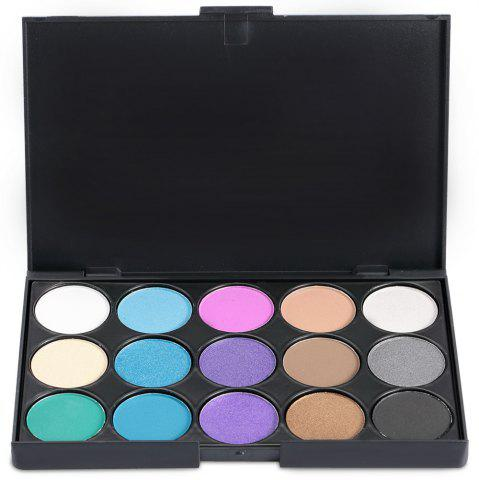 Shops 15 Colors Girl Makeup Natural Eye Shadow Palette with Brush - 03#  Mobile