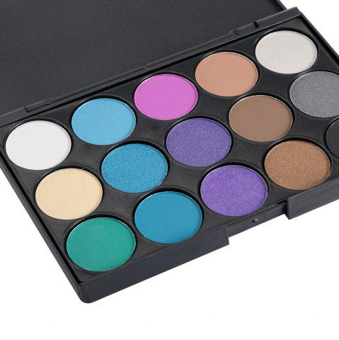 Store 15 Colors Girl Makeup Natural Eye Shadow Palette with Brush - 03#  Mobile