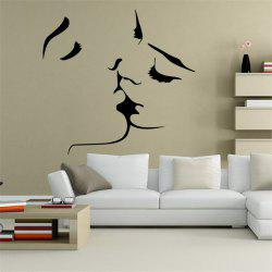 Personalized Carve Style Removable Wall Stickers Fashion Room Window Decoration - AS THE PICTURE