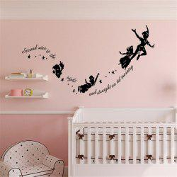 Personalized Cartoon Carve Style Removable Wall Stickers for Room Window Decoration