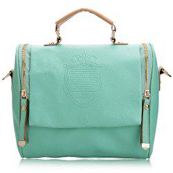 Fashion Women PU Hobo Shoulder Bag Messenger Purse Satchel Tote Handbag - GREEN