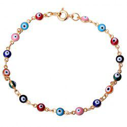 Characteristic Faux Eyes Beads Bracelet For Women