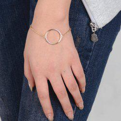 Simple Style Solid Color Geometric Bracelet For Women -